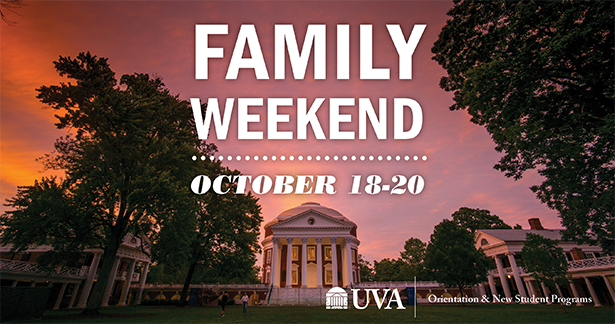 Family Weekend October 18-20